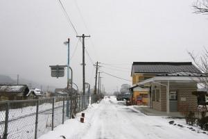 青笹町駅前
