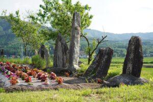火渡の石碑群