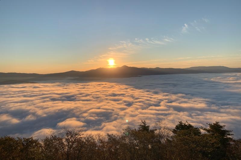 高清水展望台 雲海